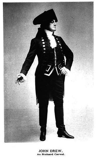 Empire Theatre (41st Street) - John Drew as Richard Carvel (1900, 128 perf.)