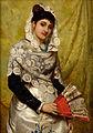 John Haynes Spanish Woman with a fan 1878.jpg