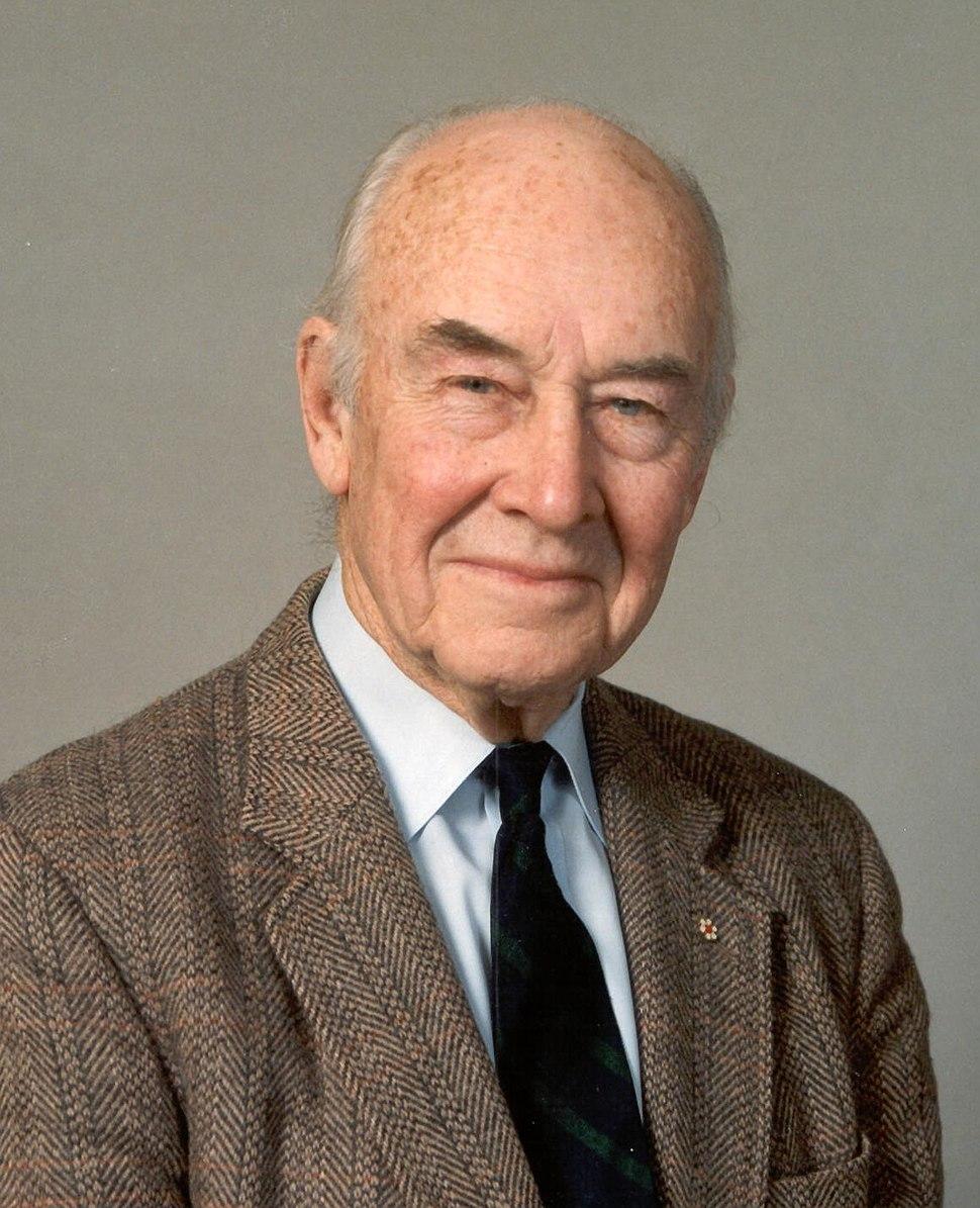 John Tuzo Wilson in 1992