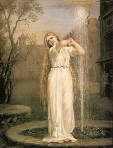 Ondina in un dipinto di John William Waterhouse