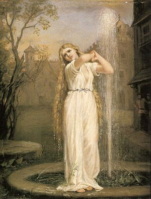 Undine (novella) - Undine by John William Waterhouse, 1872