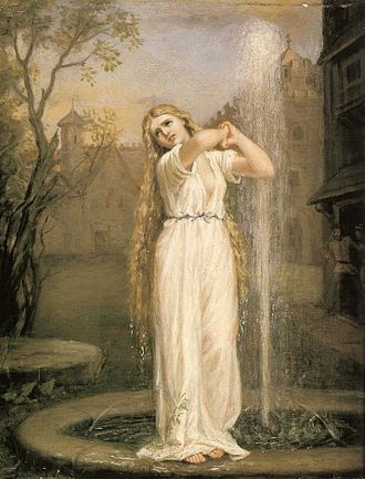 Undine, by John William Waterhouse John William Waterhouse - Undine.JPG