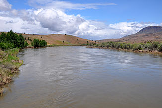 John Day River bei Clarno