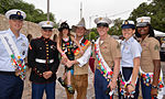 Joint Base San Antonio military ambassadors join Fiesta royalty, special guests to kick off Fiesta San Antonio 150416-N-UR169-003.jpg