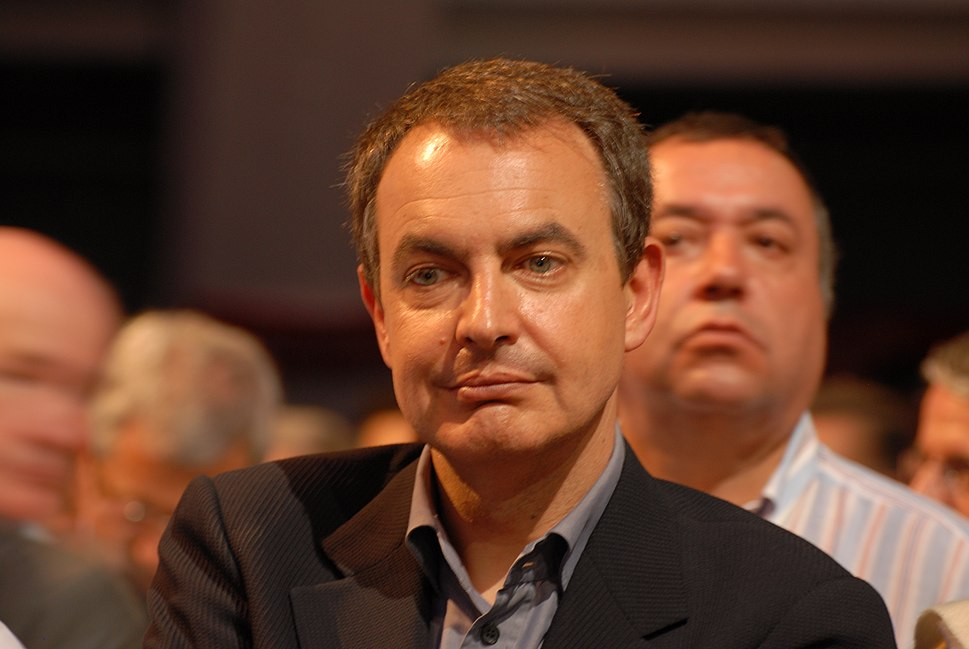 José Luis Rodríguez Zapatero - Royal & Zapatero's meeting in Toulouse for the 2007 French presidential election 0524 2007-04-19