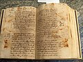 José Santiago Garnelo Alda anotación en Quinque Libri de nacimientos de la parroquia de San Miguel de Enguera.jpg