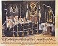 Joseph Bayer Franz I auf dem Paradebette 1835.jpg