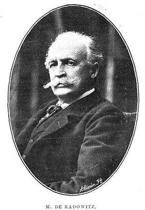 Joseph Maria von Radowitz Jr. - Joseph Maria von Radowitz