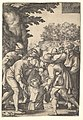 Joseph lowered into a well by his brothers, from the series 'The Story of Joseph' MET DP828521.jpg