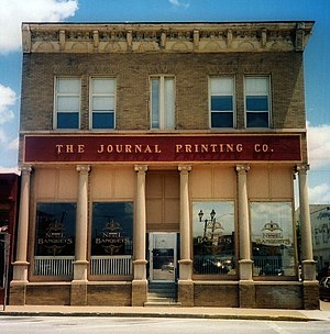 Journal Printing Company Building - Journal Printing Building, November 2012