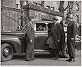 Judge Robert M. Toms arrives at the Courthouse - DPLA - 1c968243afd0e49db62e5835533ca4a2.jpg