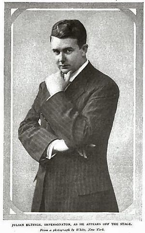Julian Eltinge - Julian Eltinge ca. 1908