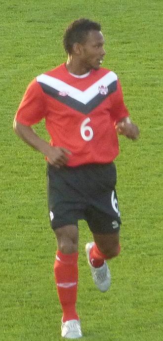 Julian de Guzman - De Guzman playing against Ecuador at BMO Field on June 1, 2011
