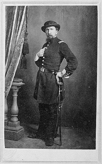 T. M. Schleier - Carte de visite of a Union soldier, created by Schleier during the Union occupation of Nashville
