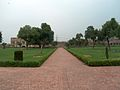 July 9 2005 - The Lahore Fort-Looking east infront of hall of public audience.jpg