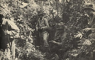 158th Infantry Regiment (United States) - Jungle patrol in Panama
