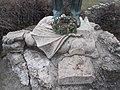Károly Kós statue, dragon, 2018 Wekerletelep.jpg