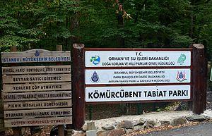 Kömürcübent Nature Park - Image: Kömürcübent Nature Park (1)