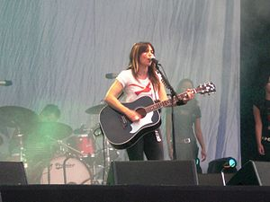 KT Tunstall - Tunstall performing at the Isle of Wight Festival 2008