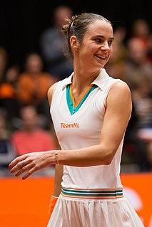Bibiane Schoofs Dutch tennis player