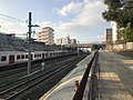 Kagoshima Main Line and Kashii Line near Kyushu Sangyo University 4.jpg