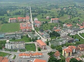 Kalesija - Panorama of town