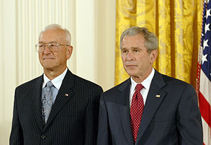 Paul G. Kaminski - Paul G. Kaminski receiving the 2006 National Medal of Technology from President George W. Bush