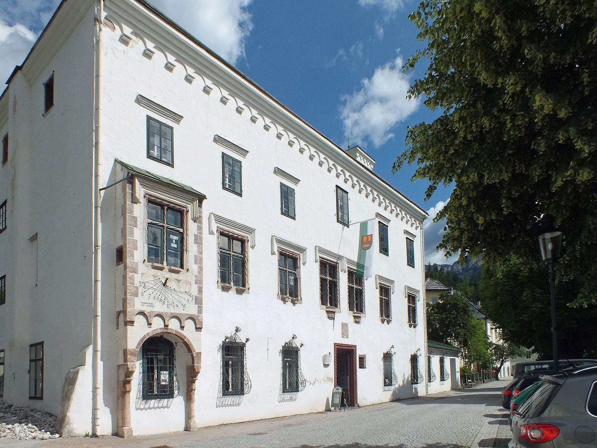 Ausseer kammerhofmuseum wikipedia for Haus bad aussee