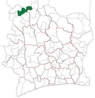 Kaniasso Department Department in Denguélé, Ivory Coast