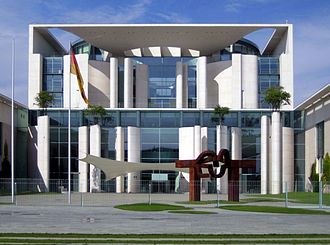 Chancellor of Germany (1949–) - The Bundeskanzleramt (Chancellery) in Berlin is the primary seat of the Chancellor