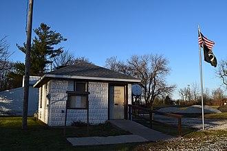 Kappa, Illinois - Kappa village hall