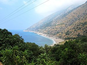 Jebel Aqra - The slopes of Jebel Aqra along the Syria-Turkey borderline on the Mediterranean Sea