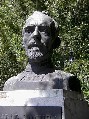 Emil Theodor Kocher - Bust of Theodor Kocher (created by Karl Hänny)