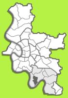 Lage im Stadtgebiet