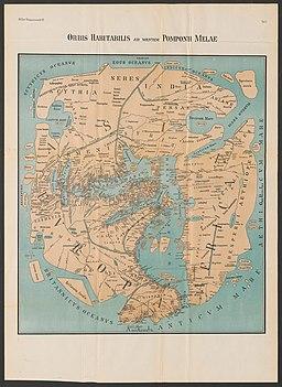 Karte Pomponius Mela