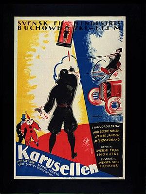 Carousel (1923 film) - The film's original 1923 poster