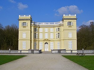 Ursel family - d'Ursel Castle, Hingene redesigned by the italian architect Giovanni Niccolò Servandoni