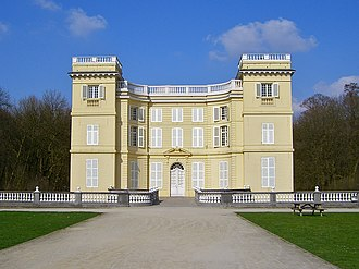 Ursel family - d'Ursel Castle, Hingene redesigned by the Italian architect Giovanni Niccolò Servandoni