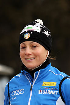 Katja Haller in Antholz 2011