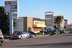 Konvoi-Straße in Kearny Mesa