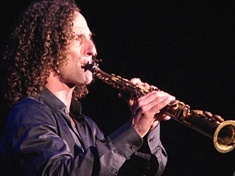Kenny G - Kenny G playing in Shanghai in 2007
