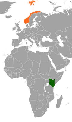 Diplomatic relations between the Republic of Kenya and the Kingdom of Norway