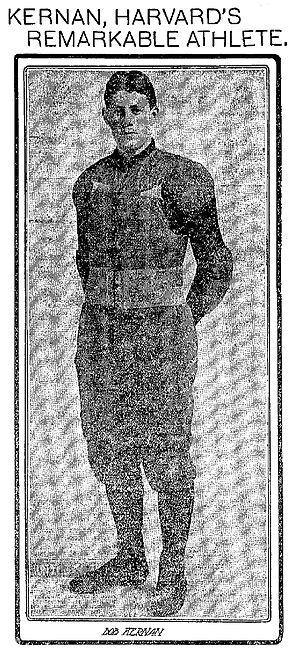 Robert Kernan - Image: Kernan bob 1902 0509 harvard