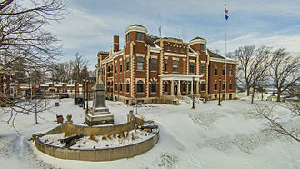 Kewaunee County, Wisconsin - Image: Kewaunee County Courthouse
