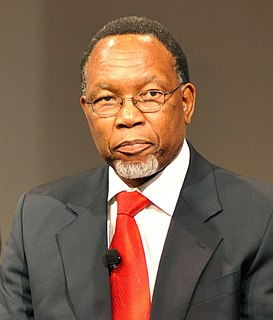Kgalema Motlanthe President of South Africa, Deputy President of the ruling African National Congress (ANC) and Secretary-General of the African National Congress