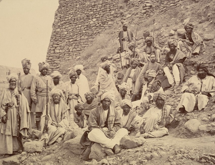 Khyber chiefs with captain tucker