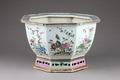 Kinesisk blomkruka gjord i porslin på 1700-talet - Hallwylska museet - 96129.tif