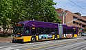 King County Metro XT60 trolleybus 4507 on Broadway (2016).jpg