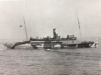 SS King Orry (1913) - King Orry on active service during the Great War.