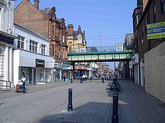 South Shields - Image: King Street, South Shields geograph.org.uk 406083
